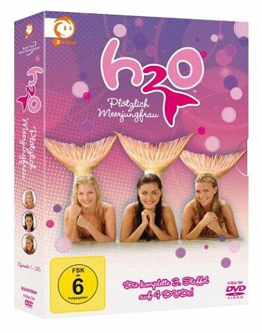 DVD »Plötzlich Meerjungfrau - Die komplette 3....«
