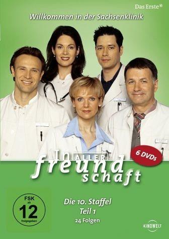 DVD »In aller Freundschaft - Die 10. Staffel, Teil...«