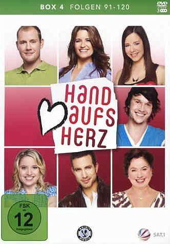DVD »Hand aufs Herz, Folgen 91-120 (3 Discs)«