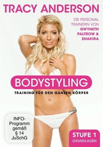 DVD »Tracy Anderson - Bodystyling: Grundlagen, Stufe 1«