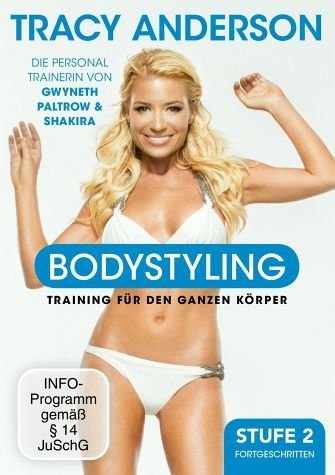 DVD »Tracy Anderson - Bodystyling: Fortgeschritten,...«