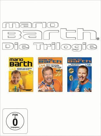 DVD »Mario Barth - Die Trilogie (3 Discs)«
