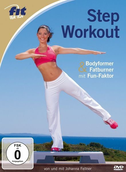 DVD »Fit for Fun - Step Workout - Bodyformer &...«
