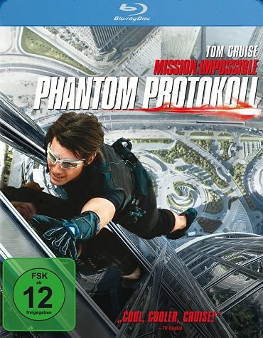 Blu-ray »Mission: Impossible - Phantom Protokoll...«