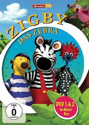 DVD »Zigby - Das Zebra, DVD 1 & 2 in dieser Box (2...«