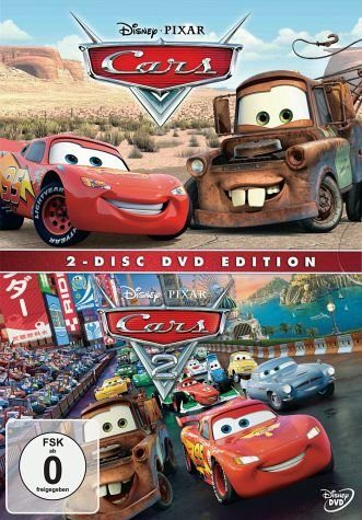 DVD »Cars 1 & 2 DVDs«