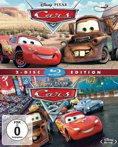Blu-ray »Cars 1 & 2 Blu-rays«