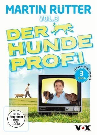 DVD »Martin Rütter - Der Hundeprofi, Vol. 3 (3 Discs)«