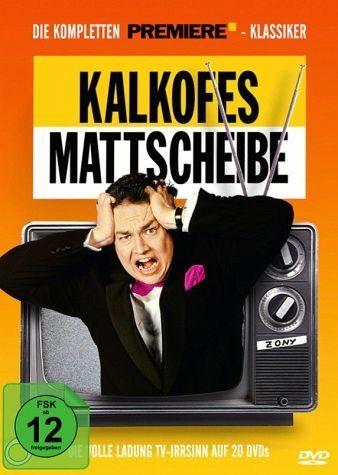 DVD »Kalkofes Mattscheibe: Die kompletten Premiere...«