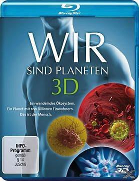 Blu-ray »Wir sind Planeten 3D (Blu-ray 3D)«