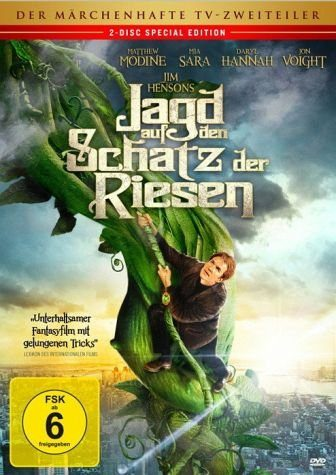 DVD »Jagd auf den Schatz der Riesen«