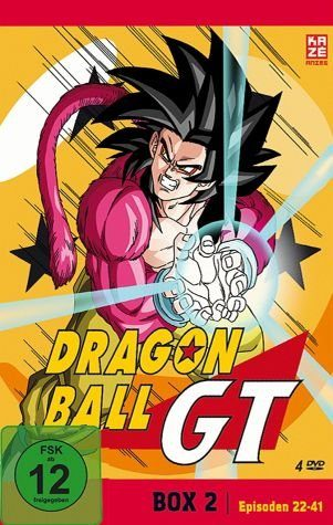DVD »Dragonball GT - Box 2 (4 Discs)«
