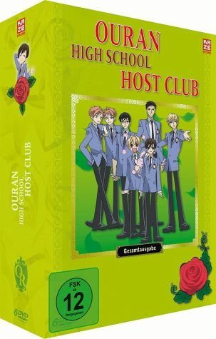 DVD »Ouran High School Host Club - Gesamtausgabe (6...«