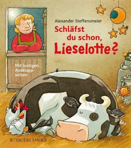 Buch mit Papp-Einband »Schläfst du schon, Lieselotte?«