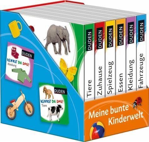 Buch mit Papp-Einband »Kennst du das? Meine bunte Kinderwelt«