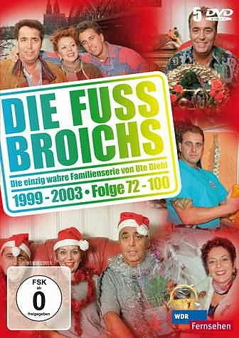 DVD »Die Fussbroichs - 4. Staffel (Folgen 72-100)...«