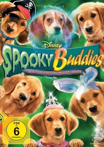 DVD »Spooky Buddies - Der Fluch des Hallowuff-Hunds«