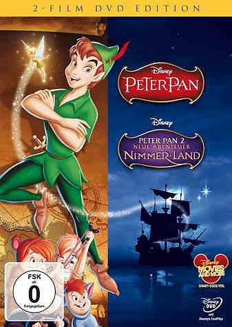 DVD »Peter Pan / Peter Pan 2 - Neue Abenteuer in...«
