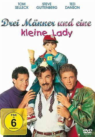DVD »Drei Männer und eine kleine Lady«