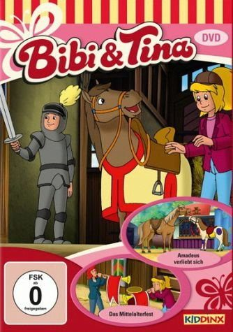 DVD »Bibi & Tina - Amadeus verliebt sich / Das...«