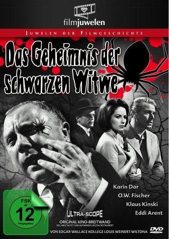DVD »Das Geheimnis der schwarzen Witwe«