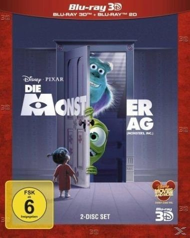 Blu-ray »Die Monster AG, 3D Superset, 2 Blu-rays«