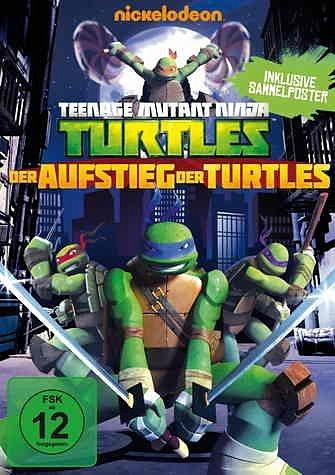 DVD »Teenage Mutant Ninja Turtles - Der Aufstieg...«