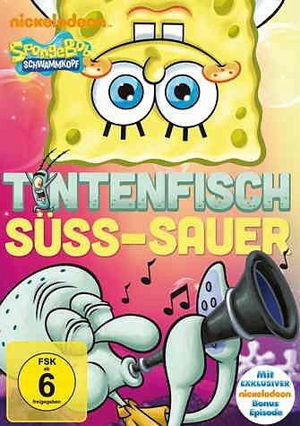 DVD »SpongeBob Schwammkopf - Tintenfisch süß-sauer«
