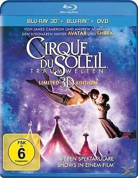Blu-ray »Cirque du Soleil: Traumwelten (Blu-ray 3D, +...«