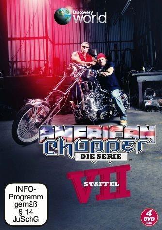 DVD »American Chopper - Die Serie, VII Staffel (4...«