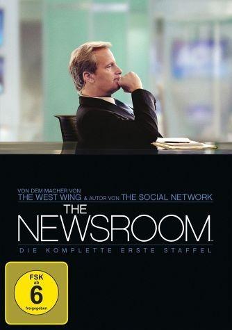 DVD »The Newsroom - Die komplette erste Staffel (4...«