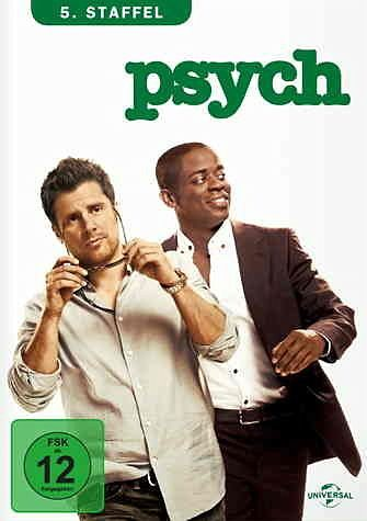 DVD »Psych - 5. Staffel (4 Discs)«