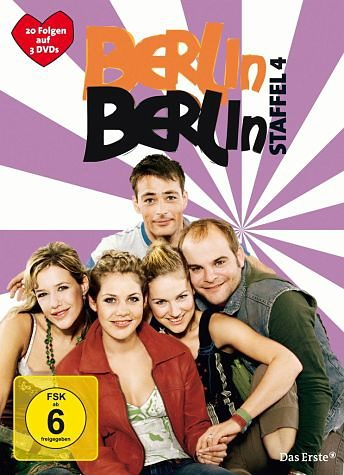 DVD »Berlin, Berlin - Staffel 4 (3 Discs)«