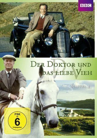 DVD »Der Doktor und das liebe Vieh - Staffel 4 (4...«