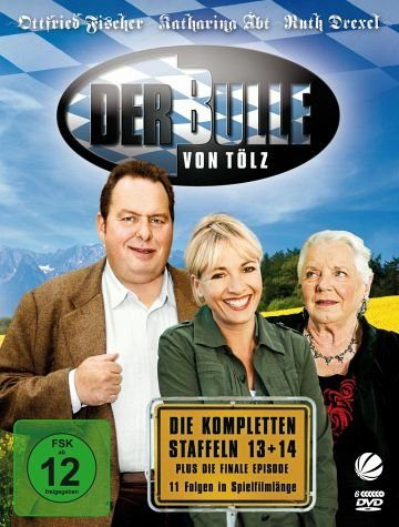 DVD »Der Bulle von Tölz - Die kompletten Staffeln...«