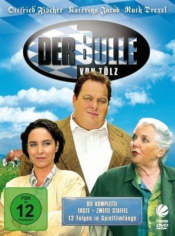DVD »Der Bulle von Tölz - Staffel 1 + 2 (6 Discs)«