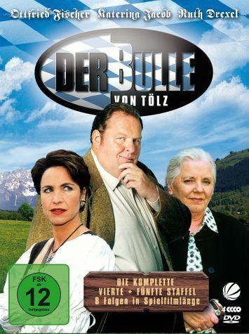 DVD »Der Bulle von Tölz - Staffel 4 + 5 (4 Discs)«