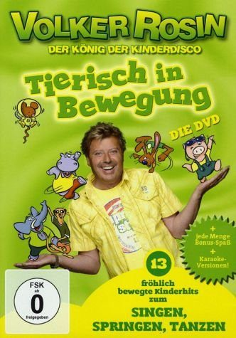 DVD »Tierisch in Bewegung - Singen, Springen, Tanzen«