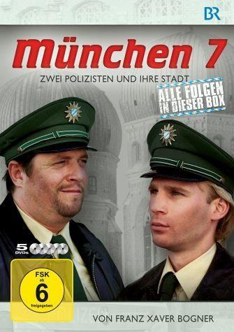 DVD »München 7 - Zwei Polizisten und ihre Stadt,...«