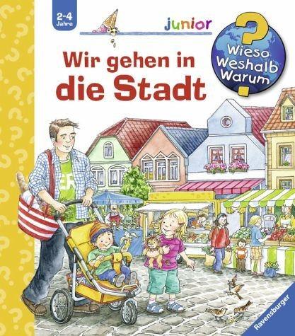 Buch mit Papp-Einband »Wir gehen in die Stadt / Wieso? Weshalb?...«