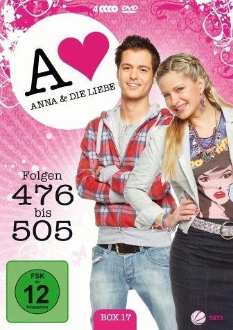 DVD »Anna und die Liebe - Box 17, Folgen 476-505 (4...«