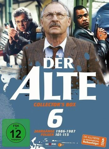DVD »Der Alte - Collector's Box Vol. 06 (Folgen...«