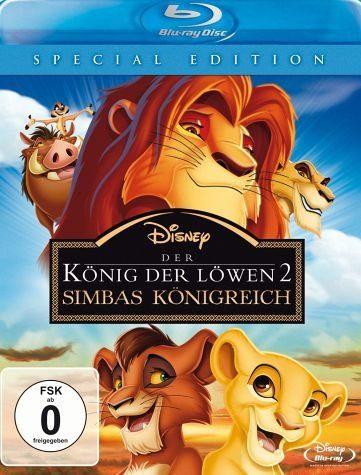 Blu-ray »Der König der Löwen 2 - Simbas Königreich...«