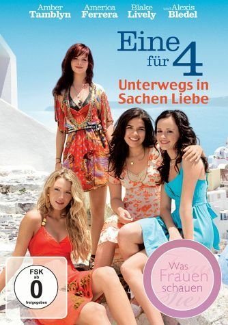 DVD »Eine für 4 - Unterwegs in Sachen Liebe«