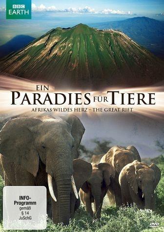 DVD »Ein Paradies für Tiere: Afrikas wildes Herz -...«