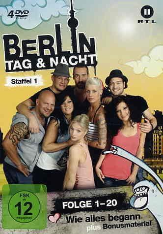 DVD »Berlin - Tag & Nacht - Staffel 01 (Folge 1-20)...«