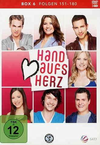 DVD »Hand aufs Herz, Folgen 151-180 (3 Discs)«