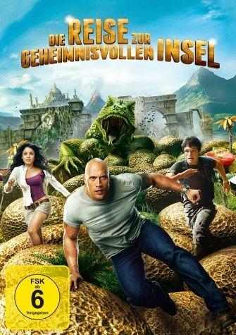 DVD »Die Reise zur geheimnisvollen Insel, 1 DVD«
