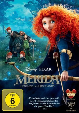 DVD »Merida - Legende der Highlands«