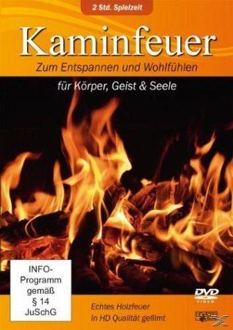 DVD »Kaminfeuer - Zum Entspannen und Wohlfühlen für...«